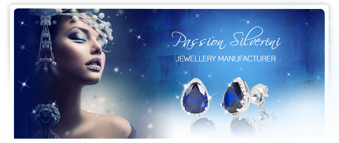 "Passion Silverini is honored to offer our products as high quality steriling silver jewellery with ""Passion"" and ""Heart"" to all our clients."